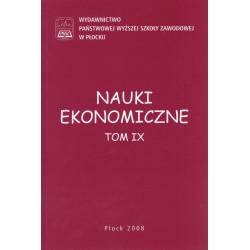 NAUKI EKONOMICZNE TOM IX