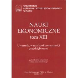 NAUKI EKONOMICZNE TOM XIII