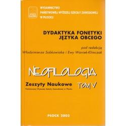 Neofilologia Tom V