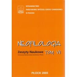 Neofilologia Tom VII