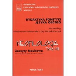 Neofilologia Tom VIII