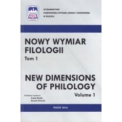 Nowy wymiar filologii. Tom 1.